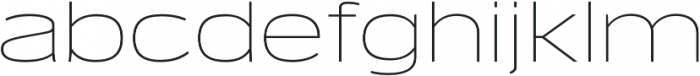 Verbatim Lite Extended Thin otf (100) Font LOWERCASE
