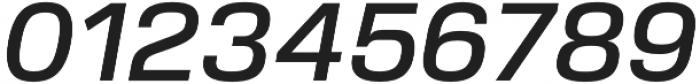 Verbatim Lite Medium Oblique otf (500) Font OTHER CHARS