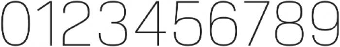 Verbatim Lite Thin otf (100) Font OTHER CHARS