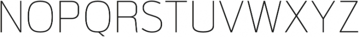 Verbatim Lite Thin otf (100) Font UPPERCASE