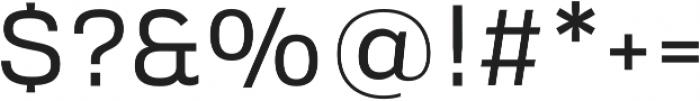 Verbatim Lite otf (400) Font OTHER CHARS
