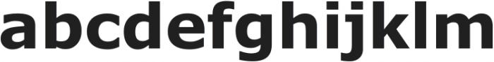 Verdana Gras ttf (400) Font LOWERCASE