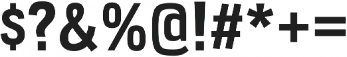 Veriox Bold otf (700) Font OTHER CHARS