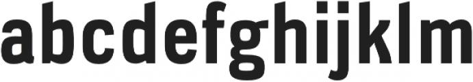 Veriox Bold otf (700) Font LOWERCASE