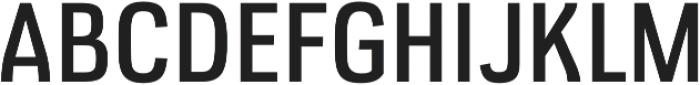 Veriox Regular otf (400) Font UPPERCASE