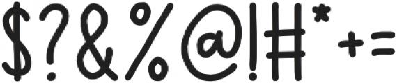 Vernal Park Bold otf (700) Font OTHER CHARS