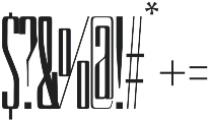 Vernazza regular otf (400) Font OTHER CHARS