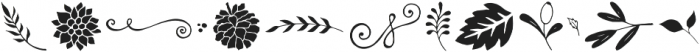 Veronia Elements otf (400) Font LOWERCASE