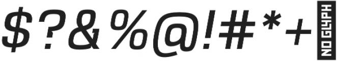 VersaBlock Book Oblique otf (400) Font OTHER CHARS