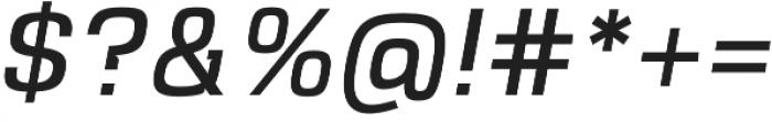 VersaBlock Pro Book Oblique otf (400) Font OTHER CHARS