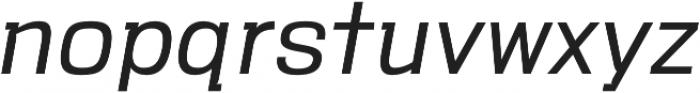 VersaBlock Pro Light Oblique otf (300) Font LOWERCASE