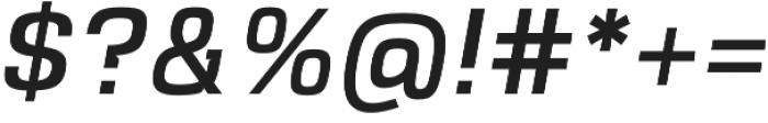 VersaBlock Pro Regular Oblique otf (400) Font OTHER CHARS