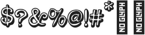 Versaint Outline . otf (400) Font OTHER CHARS