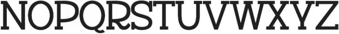 Versalita&Serif otf (400) Font UPPERCASE