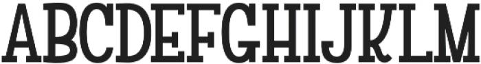 Versalita&Serif otf (400) Font LOWERCASE
