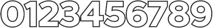 Versatile Outline otf (400) Font OTHER CHARS