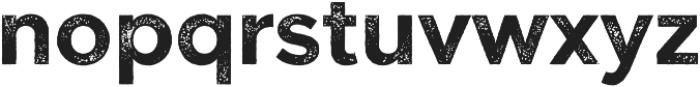 Versatile Rust otf (700) Font LOWERCASE
