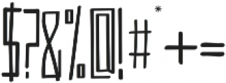 VersionType Pro ttf (400) Font OTHER CHARS