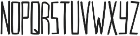 VersionType Pro ttf (400) Font UPPERCASE