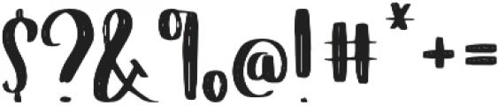 Verve otf (400) Font OTHER CHARS