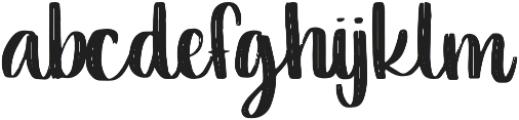 Verve otf (400) Font LOWERCASE