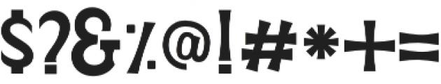 Verveda 01 otf (400) Font OTHER CHARS