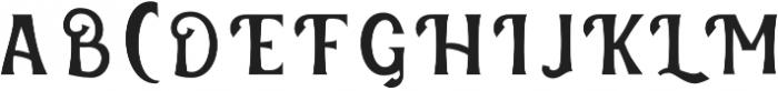 Verveda 01 otf (400) Font UPPERCASE