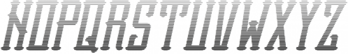 Vesaly Gradient Regular otf (400) Font UPPERCASE