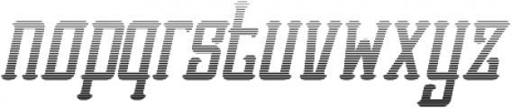 Vesaly Gradient Regular otf (400) Font LOWERCASE