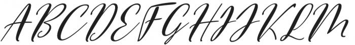 Vettorell Slant Super otf (400) Font UPPERCASE