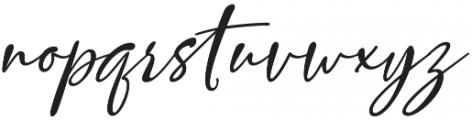 Vettorell Slant otf (400) Font LOWERCASE