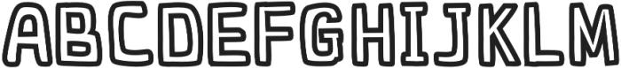 vektoria otf (400) Font LOWERCASE