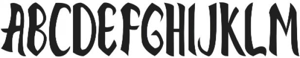 velociraptype velociraptype otf (400) Font UPPERCASE