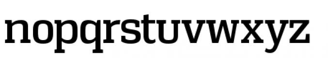 Vectipede Regular Font LOWERCASE