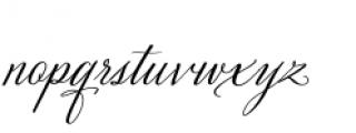 Velvet Hammer Font LOWERCASE