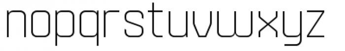 Velvet Light Font LOWERCASE