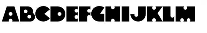 Velvet Teen PB Font UPPERCASE