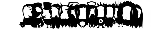 Vectorlove 1 Font LOWERCASE
