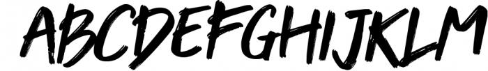 Venomica Hand Brush Typeface 1 Font LOWERCASE