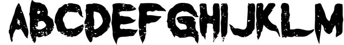 Vermillion Display Font Font UPPERCASE