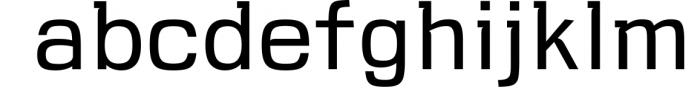VersaBlock Pro Sharp Geometric Font 4 Font LOWERCASE