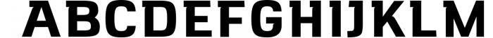 VersaBlock Sharp Geometric Font Font UPPERCASE