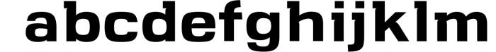 VersaBlock Sharp Geometric Font Font LOWERCASE