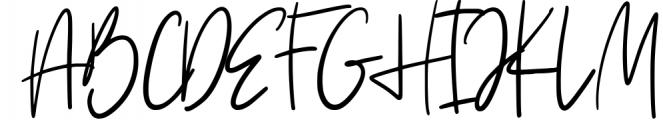 Vesterly Signature Handwritten Font UPPERCASE