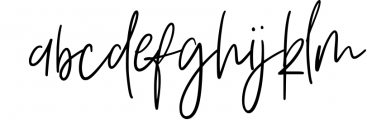 Vesterly Signature Handwritten Font LOWERCASE