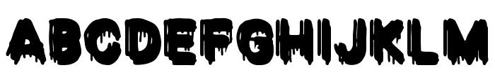 VENGANZA Font LOWERCASE