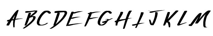 Vecker Bold Font LOWERCASE