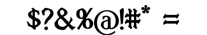 Vecna Bold Font OTHER CHARS