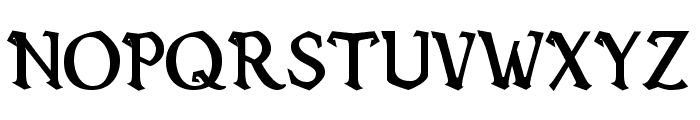 Vecna Bold Font UPPERCASE