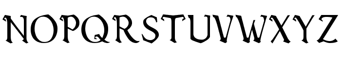 Vecna Font UPPERCASE